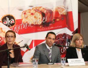 Alka framânta 1 milion EUR în prajituri