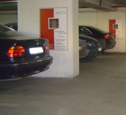 Cea mai tare din publicitatea în parcare