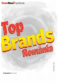 Brandient a realizat Top Brands pentru BusinessWeek România