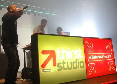 Peste 2000 de oameni la concertul Heineken Music Thirst Studio