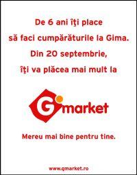Publicis Romania schimba Gima cu G'Market