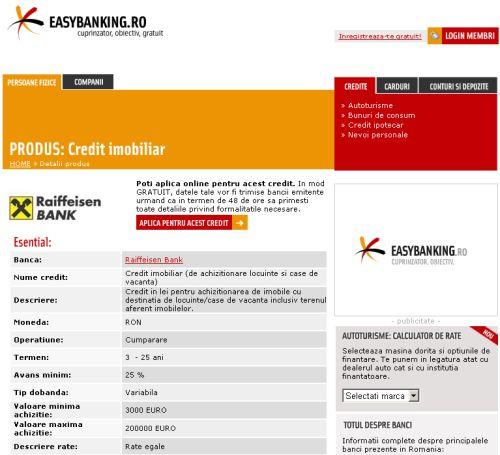 Ninespices crediteaza Easybanking.ro