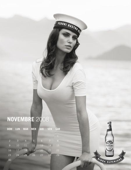 Trei Top Modele Romance In Calendario Peroni Catrinel