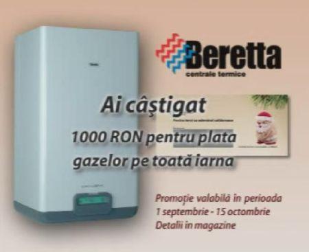Beretta, centrale recomandate cu caldura de Publicis România