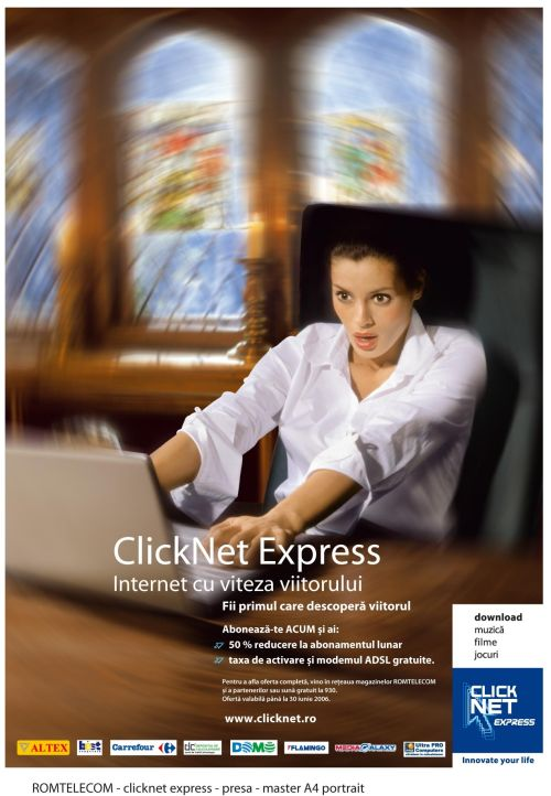 Explosion Grey la ClickNet Express