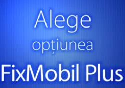 Romtelecom promoveaza FixMobilPlus