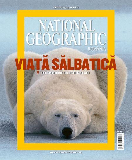 National Geographic a vandut publicitate de 70.000 lei, in Viata Salbatica
