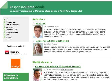 42 de studii de caz si 23 de companii, implicate în ResponsabilitateSociala.ro