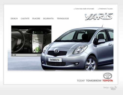 Toyota merge pe webroti Ninespices
