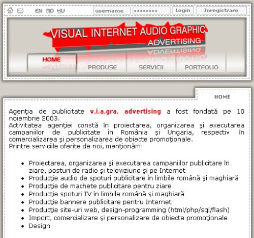 Lucrati cu V.I.A.GRA Advertising ?