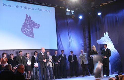Cainele Prospero a pazit Gala Premiilor CRP