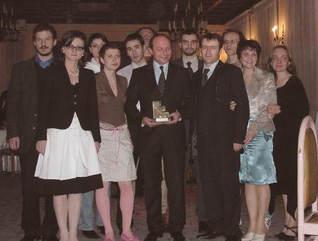 GMP/MAP felicitata de Traian Basescu