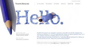 Singurul website romanesc distins la New York Festivals - Design, Print and Outdoor Advertising