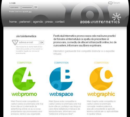 Juriul Internetics 2006
