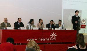 Productia de premii Internetics 2005