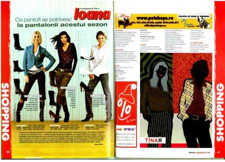 Sapte Seri face Shopping cu Burda, Ioana si Men's Health