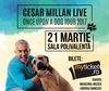 Iubitorii de caini pot urca pe scena de la Bucuresti a turneului mondial Cesar Millan!