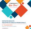 Evenimentul anului in industria de obiecte promotionale, Corporate Gifts Show va avea loc intre 9 si 12 octombrie in pavilionul B1 de la Romexpo