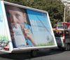 500.000 EUR pe an din publicitate outdoor pe 4 roti