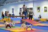 Start la GymNadia pentru 100 de copii cu varste intre 2 si 6 ani, care au dat startul energiei si veseliei