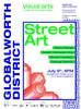 Din 9 iulie, 18.00, expozitie colectiva de arta stradala amplificata de tehnologie la primul cartier de art&tech, Globalworth District.