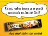 Jacobs 3 in 1 face neconventionale cu Scala JWT