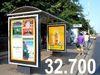 32.700 de oameni vad reclamele dintr-o statie RATB
