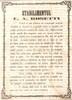 Reclame Vechi: Ianuarie 1861 - Stabilimentul CA Rosetti se desfacea de comerciul de librarie