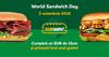 40 de restaurante Subway celebreaza World Sandwich Day si in Romania printr-un concurs inedit si un Sandwich de 15 cm gratuit la fiecare achizitie