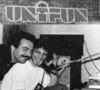 UNIFUN Radio lucra fara bani in ianuarie '90. Publicitatea nu exista.