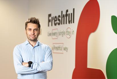 Cu 7 ani de expertiza in retail, Andrei Popescu conduce Freshful de la eMAG- noul hipermarket online cu livrare rapida a produselor proaspete