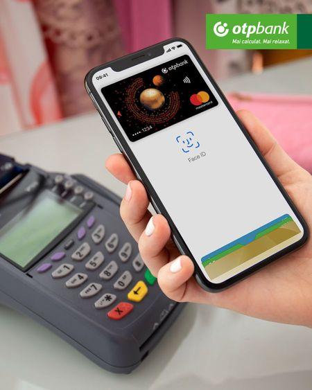 Apple Pay prin OTP Bank Romania. Sistemul de plati ofera clientilor o varianta sigura si usoara de plata