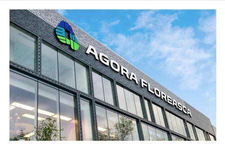 Identitatea Agora Floreasca semnata de Brandient a castigat Graphis Silver Award