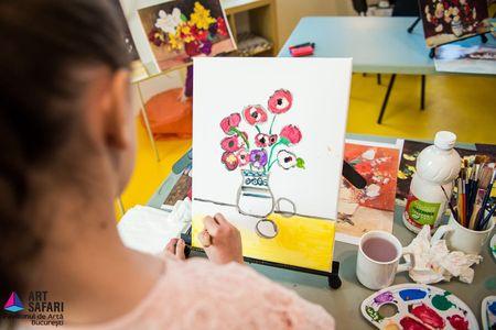 1.483 de copii si 20 de scoli au participat la atelierele Art Safari Kids 2017