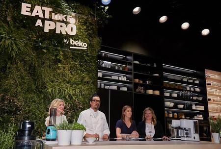 Eat Like a Pro. Activari cu chefi de renume international la standul Beko de la EuroCucina