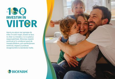 """,,De 100 de ani investim in viitor"""". Biofarm in campanie aniversara de marcare a centenarului."""