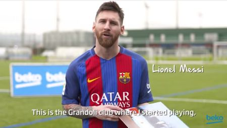 "Beko si Jucatorii FC Barcelona isi invita fanii din Romania sa castige 4 bilete la meci cu ""Locuri de Joaca"""