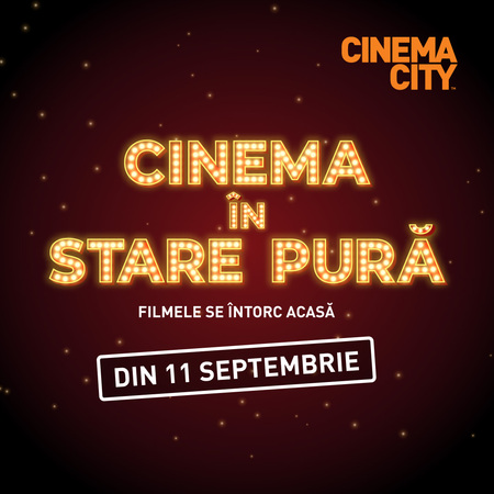 Cinema City a deschis peste 230 sali de cinema in toata tara din 11 septembrie