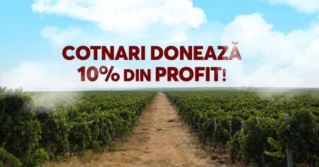 Cotnari doneaza 10% din profitul sau Spitalului Clinic de Boli Infectioase Sfanta Parascheva pe baza votului din cadrul campaniei #pentruoameni #pentrubine