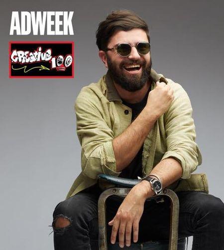 Romania are unul din cei 13 Global Creative Leaders ale caror idei au promovat publicitatea in lume. Catalin Dobre, CCO, McCann Bucharest in Creative 100, ADWEEK 2019