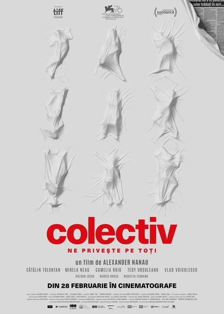 """Filmul ,,colectiv"""" in cinematografe din 28 februarie 2020"""