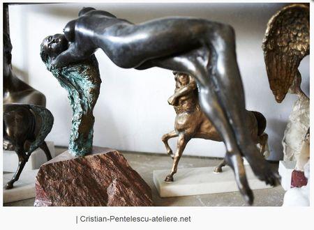 Zilele Atelierelor Deschise de Sculptura continua in weekendul 20 - 21 aprilie 2019 la TNB