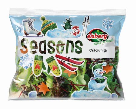 Eisberg lanseaza Craciunita, special de sezon. Big Apple si Superfood, alte noi sortimente de salate