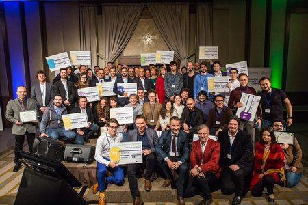 40 de echipe start-up au concurat pentru premii de 200.000 de euro