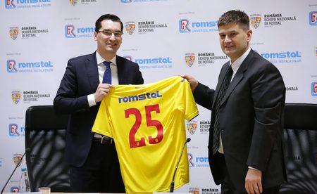 Romstal devine sponsor al Echipei Nationale de Fotbal a Romaniei