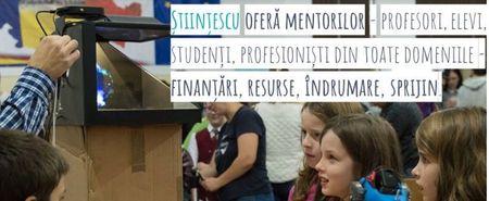 Finantari de 13.000 lei/proiect prin Fondul Stiintescu de la Fundatia Comunitara Tara Fagarasului (FCTF)