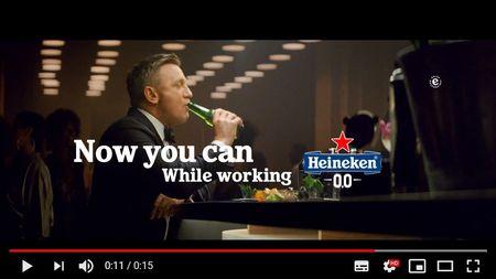 Noua campanie Heineken, Daniel Craig versus James Bond, in 75 de tari