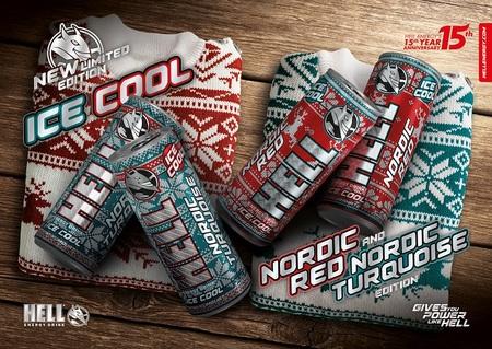 HELL ENERGY lanseaza noua editie Ice Cool cu arome specifice sezonului rece si design scandinav