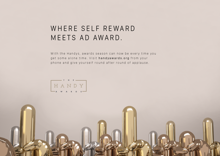 Creativii nu trebuie sa-si mai dea premii unii altora. Isi pot da singuri la HandyAwards.
