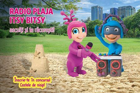Grila noua la Itsy Bitsy FM cu atmosfera de vacanta si parenting cu mama blogger Ela Craciun.